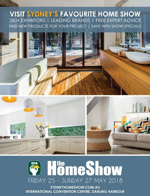 Sydney Home Show – May 2018
