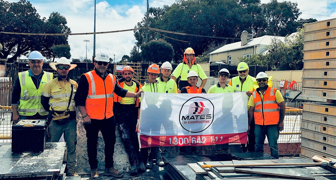 MATES in Construction Australia suicide awareness tradies support mental health